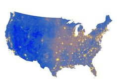 Map: The Loudest (And Quietest) Places In The U. A new map created by the National Park Service's Natural Sounds and Night Skies Division shows where the country's loudest—and quietest—places are located. Service Map, Park Service, Sound Map, Pictures Of America, Citizen Science, Science News, Noise Pollution, Light Pollution, Places In America