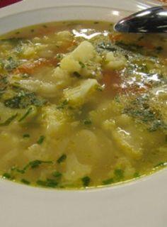 Krupicovo-karfiolová polievka
