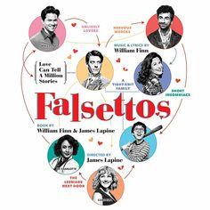 Falsettos 2016 Revival #broadway via movie theatre