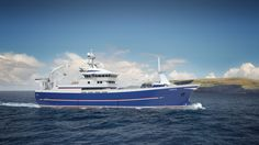 The new Adenia design from Salt Ship Design for Adenia Fishing Company, Lerwick, Shetland.   There are now 14 new designs from Salt under construction with this new contract - Haugalandet Sunnhordland - Maritimt Forum.