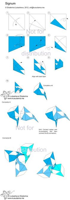 59 Best Kusudama Instructions Images On Pinterest Tutorials
