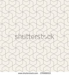 Vector seamless pattern with chevron. Modern monochrome texture. Linear grid with twisted polygonal elements. Repeating abstract background. Geometric stylish tiles.