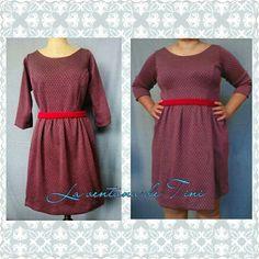 Dress,curvy,tallagrande,vestidos,gris,rojo