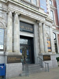 The Academy of Natural Sciences of Drexel University --- Address: 1900 Benjamin Franklin Parkway, Philadelphia. Oldest natural history museum in the Americas, world leader in biodiversity. Popular exhibit: Dinosaur hall. 10am-4:30pm. Adults- $15, Students/Seniors $13. Website: www.ansp.org.