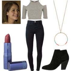 Thea Queen by sarahsassafras13 on Polyvore featuring River Island, J Brand, Buffalo, Accessorize and Lipstick Queen