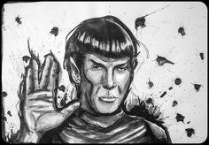 Leonard Nimoy - Spock \ by Celson Kisler