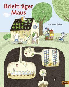 Briefträger Maus - Vierfarbiges Bilderbuch - Marianne Dubuc |BELTZ