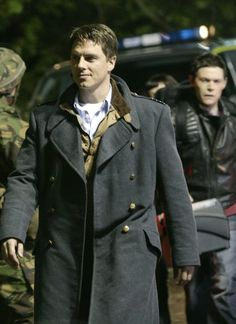 Captain filming Torchwood