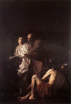 Battistello Caracciolo:Liberazione di san Pietro, 1615, olio su tela, Napoli, Chiesa del Pio Monte della Misericordia.