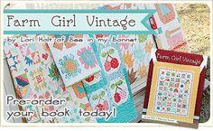 FQS - Pre-order your copy of Farm Girl Vintage today at Fat Quarter Shop!
