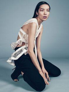 Vogue China June 2016 Photography: Sharif Hamza Styled by: Azza Yousif Hair: Charles McNair Makeup: Georgina Graham Model: Fei Fei Sun