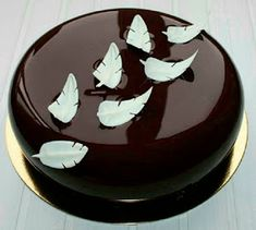8 Creations mirror glaze cake, cakes like ceramic that again hits Cake Truffles, Cake Cookies, Cupcake Cakes, Cupcakes, Fancy Desserts, Fancy Cakes, Bolo Grande, Chocolate Mirror Glaze, Decoration Patisserie