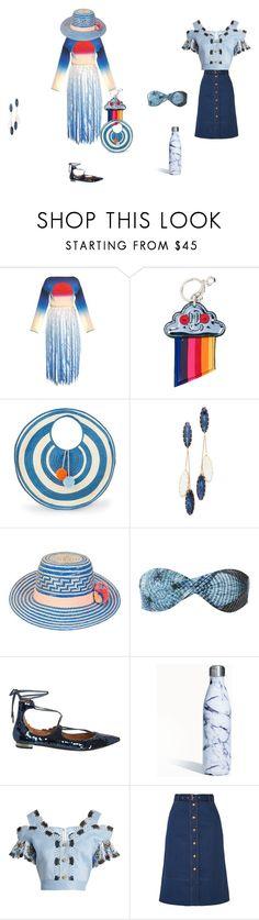 """create your own designs"" by ramakumari ❤ liked on Polyvore featuring Marco de Vincenzo, STELLA McCARTNEY, Sophie Anderson, Theia Jewelry, YOSUZI, Lygia & Nanny, Aquazzura, S'well, Peter Pilotto and rag & bone"