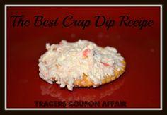 The Best Crap Dip Recipe Ever! Super Easy Appetizer, snack, treat recipe!