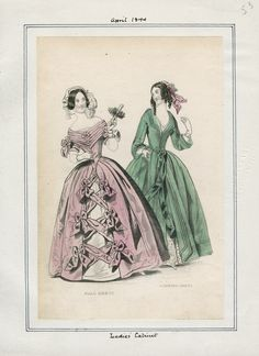 Ladies' Cabinet April 1844 LAPL