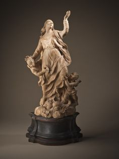 Bozzetto for the Marble 'The Assumption of the Virgin' in the Padua Duomo | LACMA Collections