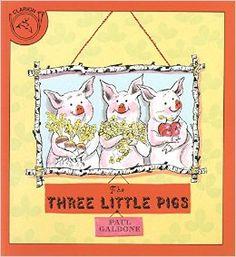The Three Little Pigs (Paul Galdone Classics): Paul Galdone: 9780899192758: Amazon.com: Books
