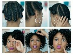 Twists and curls natural hair
