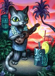 ukulele tom cat