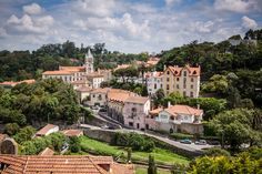 View over Sintra, Portugal
