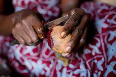 Hardworking hands in (photo credit: Esther Havens) Photo Credit, Hands