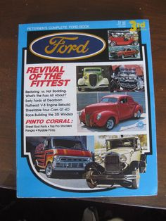 Petersen's Complete Ford Book 3rd Edition 1973 by attic41 on Etsy