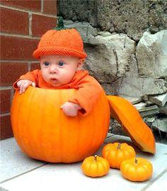 The Pumpkin Kid..Really?  In a pumpkin?