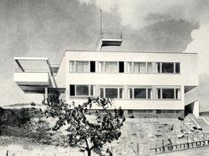 Villa Hajn, Ladislav Žák, Prague, Czechoslovakia 1932