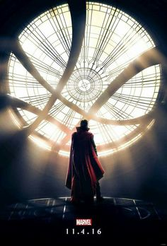 Marvel's first official poster for Doctor Strange! ♡