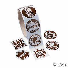 Mud Stickers