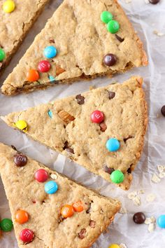 In less than 25 minutes, you can be biting into these warm, gooey Healthier Peanut Butter Granola Cookie Wedges that are filled with oats, peanut butter, and a sprinkling of chocolate! Last week I shared with you one of our favorite healthier peanut butter bars. More like a snack bar or breakfast bar and lessRead More »