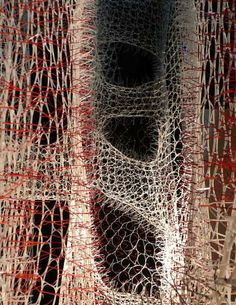 Branching Morphogenesis - 75,000 ZIPTIES by Jenny Sabin Studio