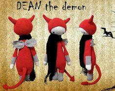 DEAN the demon (modelo de demonio obtenido de los patrones de www.lalylala.com)