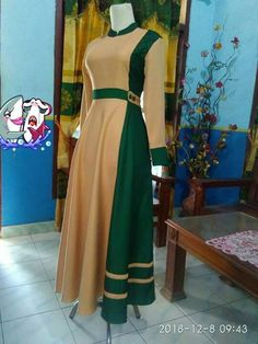 Hijab Fashion 2016, Muslim Women Fashion, Modern Hijab Fashion, Batik Fashion, Abaya Fashion, Women's Fashion Dresses, Model Dress Batik, Batik Dress, Simple Dresses