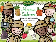 Nutrition for children in kindergarten and first grade explained with a non fiction story. This unit also includes activities, worksheets and crafts to help young learners practice writing, understand and remember key facts about healthy eating. $