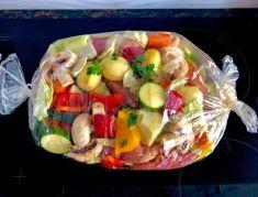 Łopatka wieprzowa pieczona z warzywami - bez tłuszczu - Blog z apetytem Kitchen Recipes, Cooking Recipes, Healthy Recipes, Mediterranean Diet Recipes, Roasted Vegetables, Food Design, I Foods, Food To Make, Food Porn