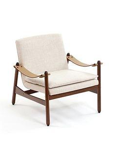 """Ipanema chaise, Jorge Zalszupin, Exposição """"Compasso"""", Espasso design gallery, TriBeCa, NY"""