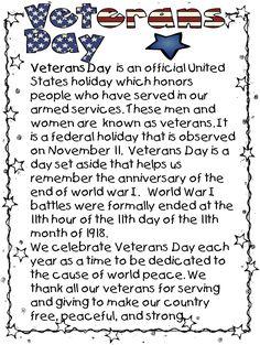 veterans essay