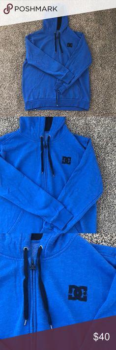 DC Cobalt Blue Zip Hoodie DC Cobalt Blue Zip Hoodie DC Shirts Sweatshirts & Hoodies