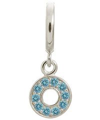 Endless Sterling Silver Sky Blue Circle of Love Charm