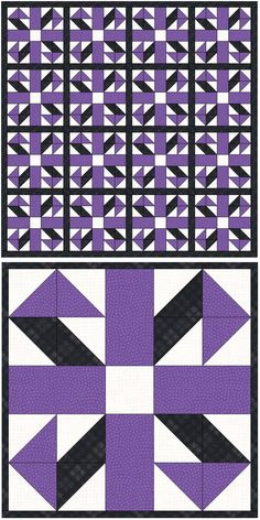 Quilt Block: Jack in the Box Quilt Block Tutorial - Step by step instructions for this easy quilt block pattern. blocks Quilt Block: Jack in the Box Quilt Block Tutorial Quilt Square Patterns, Patchwork Quilt Patterns, Barn Quilt Patterns, Pattern Blocks, Square Quilt, Easy Quilt Patterns Free, Half Square Triangle Quilts Pattern, Quilt Blocks Easy, Easy Quilts