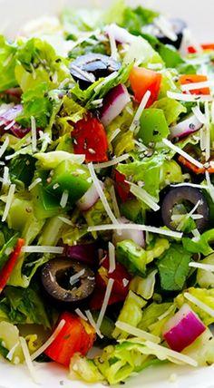 Pepperoni Italian Chopped Salad