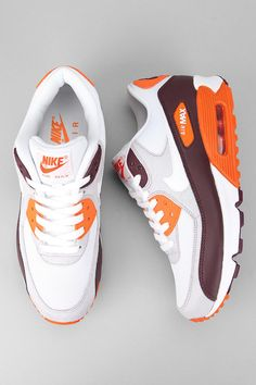Nike Air Max 90 Sneaker  #UrbanOutfitters. I could wear these on Sundays to the Browns games.