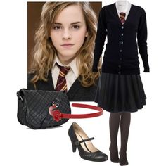 1000 images about harry potter outfits on pinterest harry potter set disneybound and ginny - Deguisement hermione granger ...