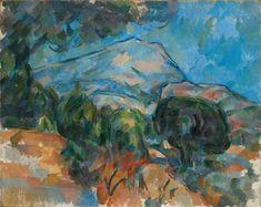 Paul Cézanne • Mount Sainte-Victoire, ca. 1904