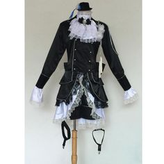 Ciel Cosplay, Anime Cosplay Costumes, Cosplay Outfits, Butler Costume, Tween Trendy Clothes, Butler Outfit, Ciel Phantomhive Cosplay, Anime Girl With Black Hair, Black Butler Ciel