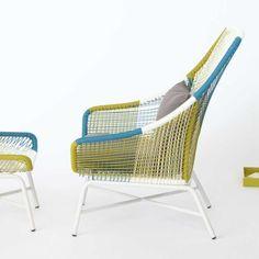 Huron Large Lounge Chair + Cushion