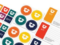 Business Logo Stickers! For envelopes, packages, your kids nose! Anywhere & everywhere!