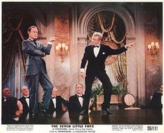 Cagney appeared in The Seven Little Foys for free, including the 2 weeks of rehearsal for the number, as a way of thanking the Foy family for helping him in his early vaudeville days.