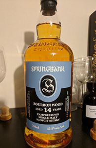 Springbank 14, 2002, Bourbon Wood | My Annoying Opinions